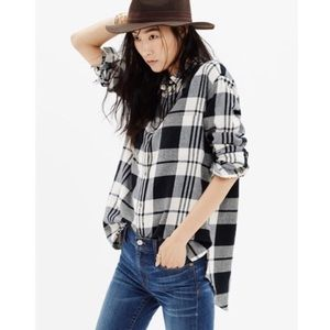 Madewell Ex-Boyfriend Flannel Size Medium
